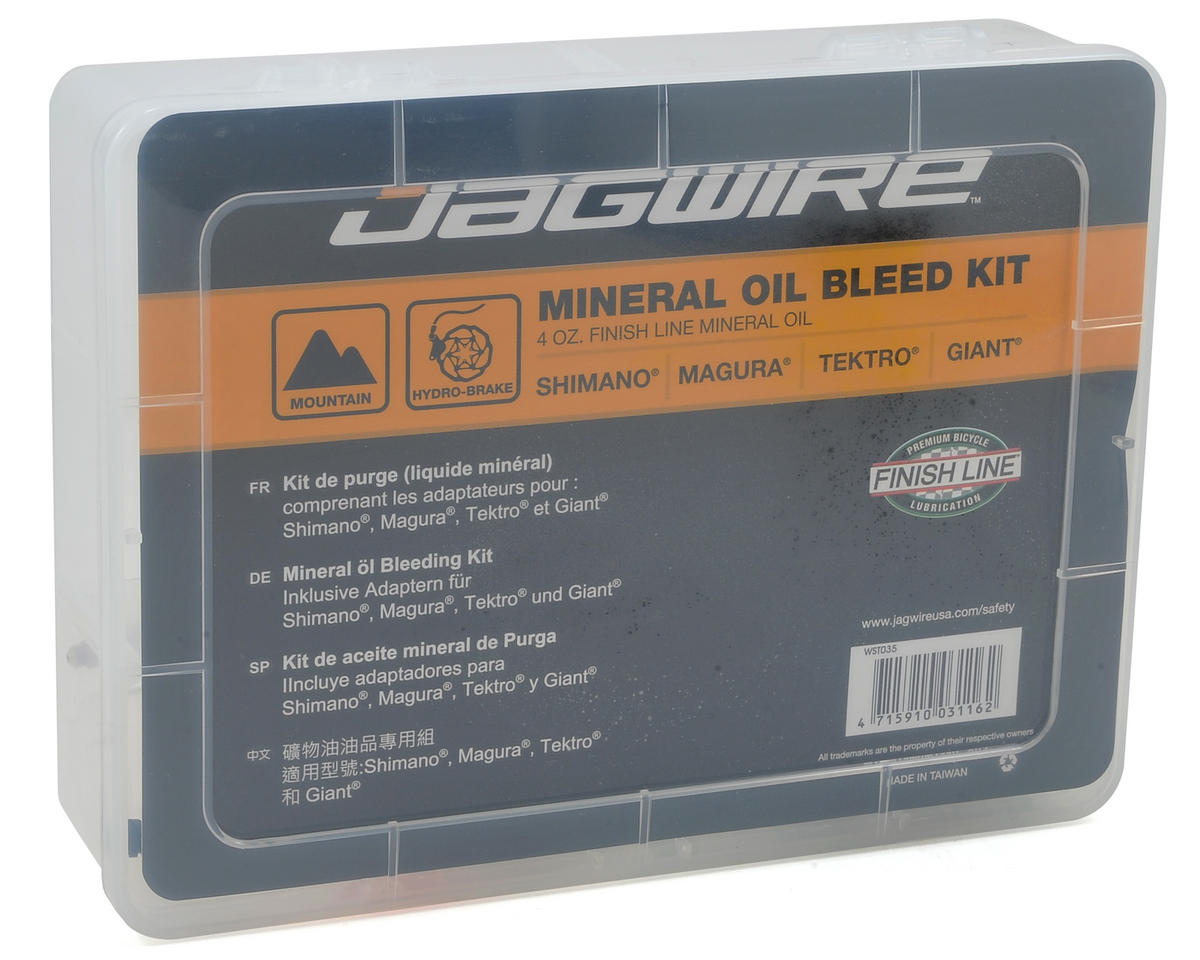 Jagwire Pro Mineral Oil Bleed Kit