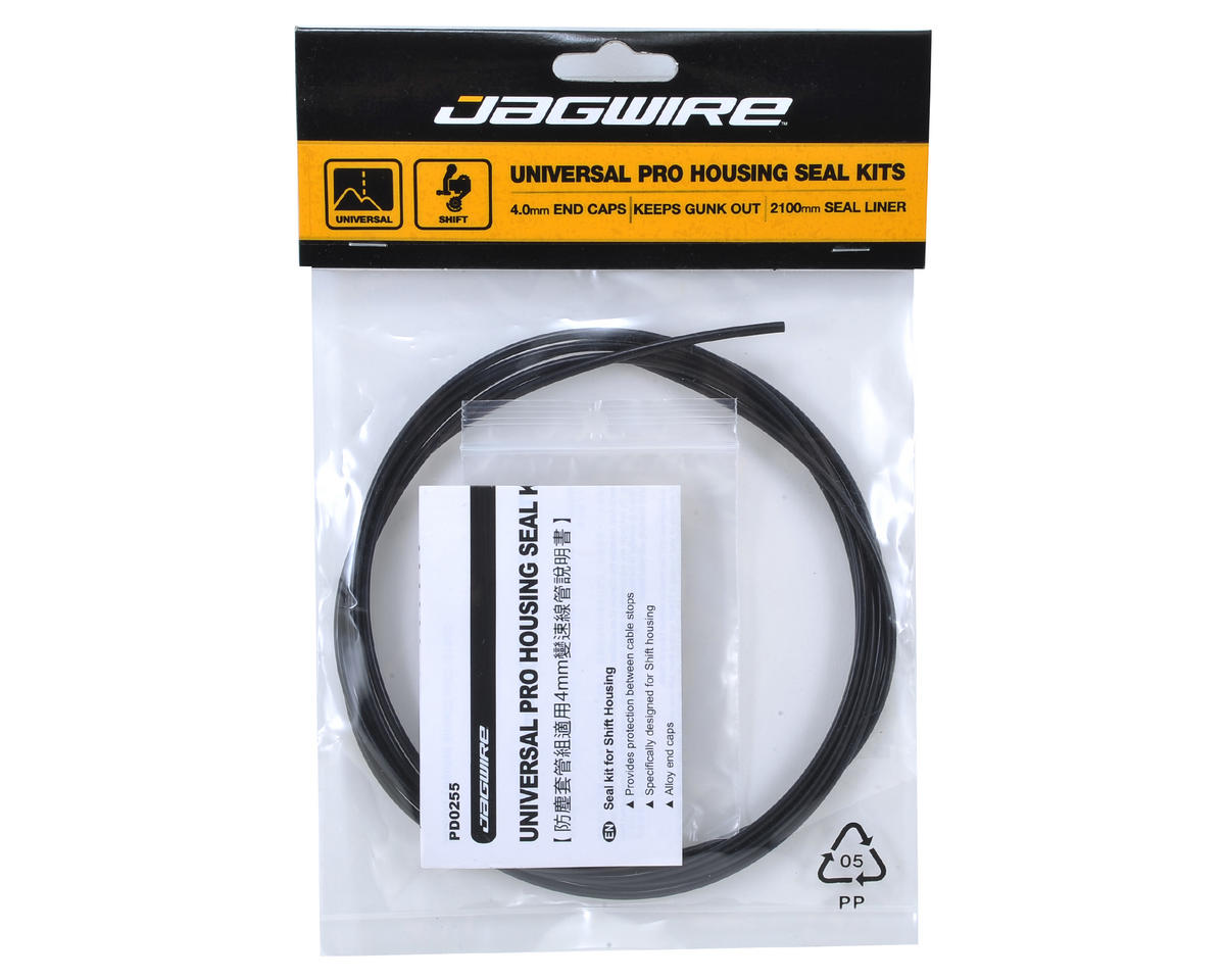 Jagwire Pro Shift Housing Seal Kit (4.0mm) (Black)