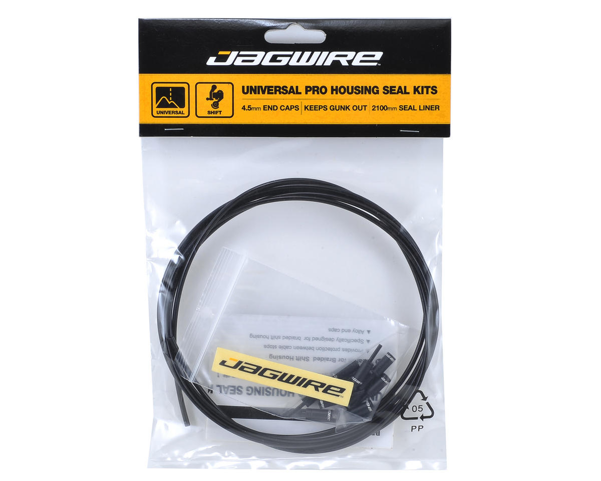 Jagwire Pro Shift Housing Seal Kit (4.5mm) (Black)