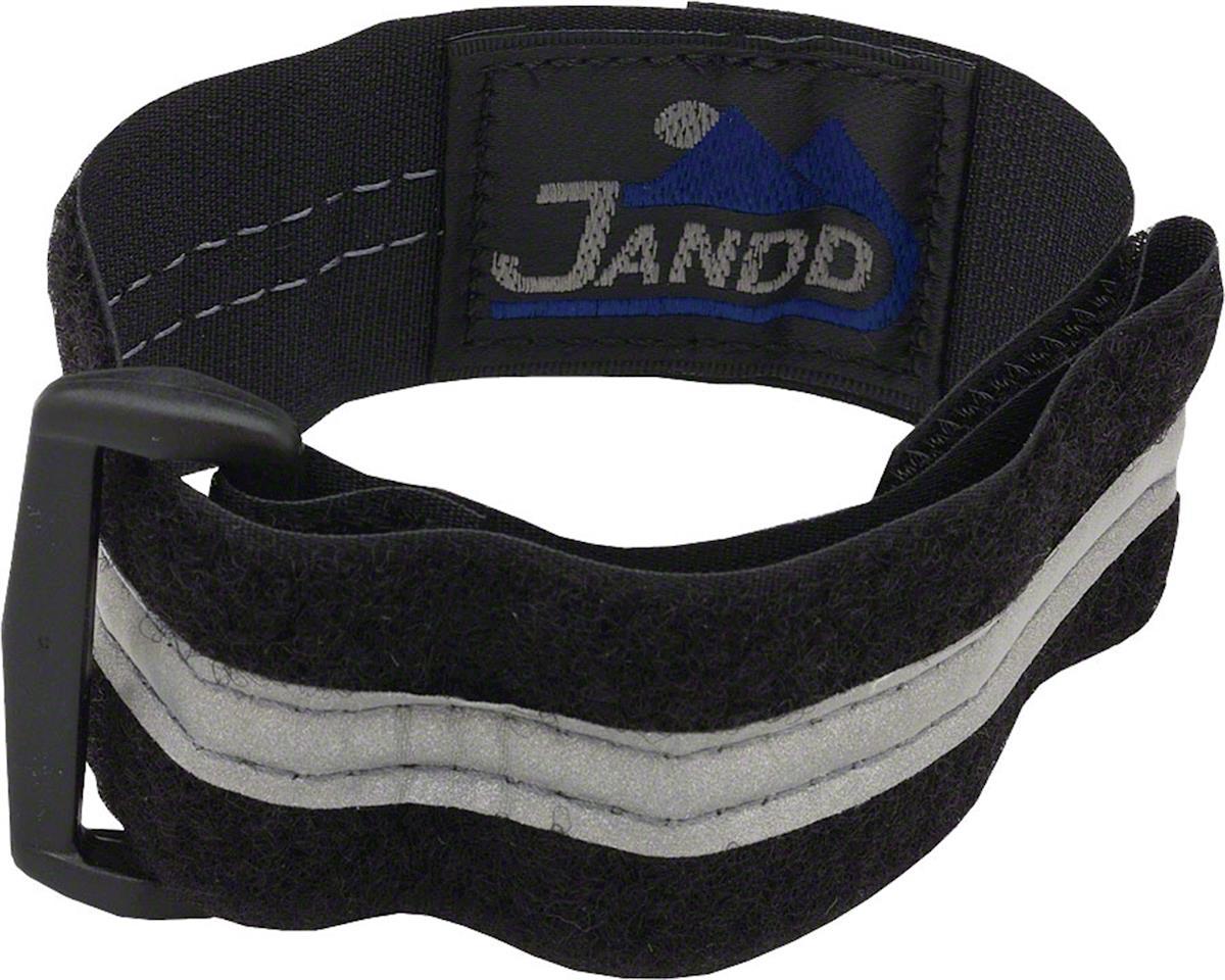 Jandd Reflective Ankle Strap (Black)