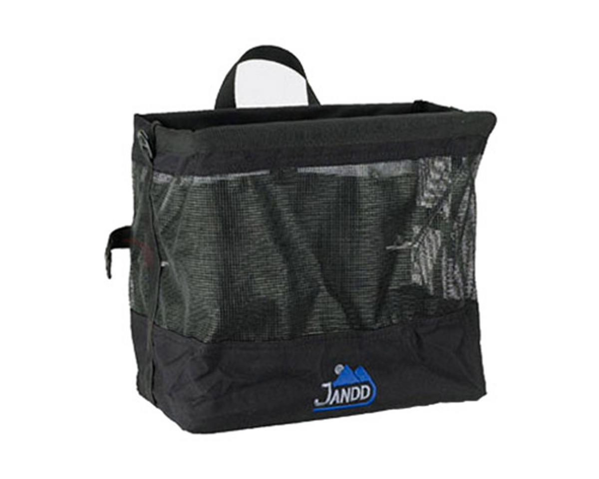 Jandd Grocery Bag Bike Pannier (Black)