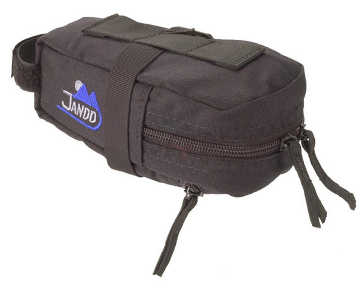 Jandd Mini Mountain Wedge Bike Saddle Bag (Black)