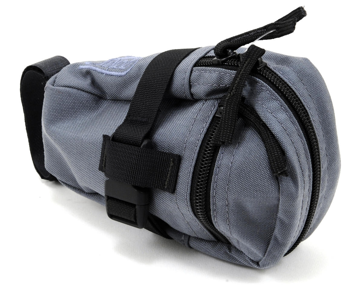 Jandd Mini Mountain Wedge Bike Saddle Bag (Gray)