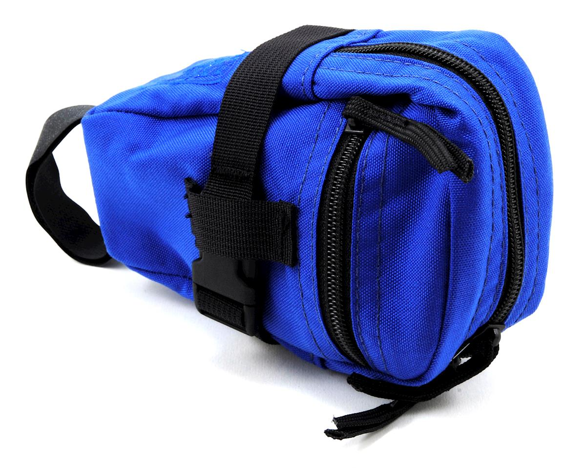 Jandd Mini Mountain Wedge Bike Saddle Bag (Blue)