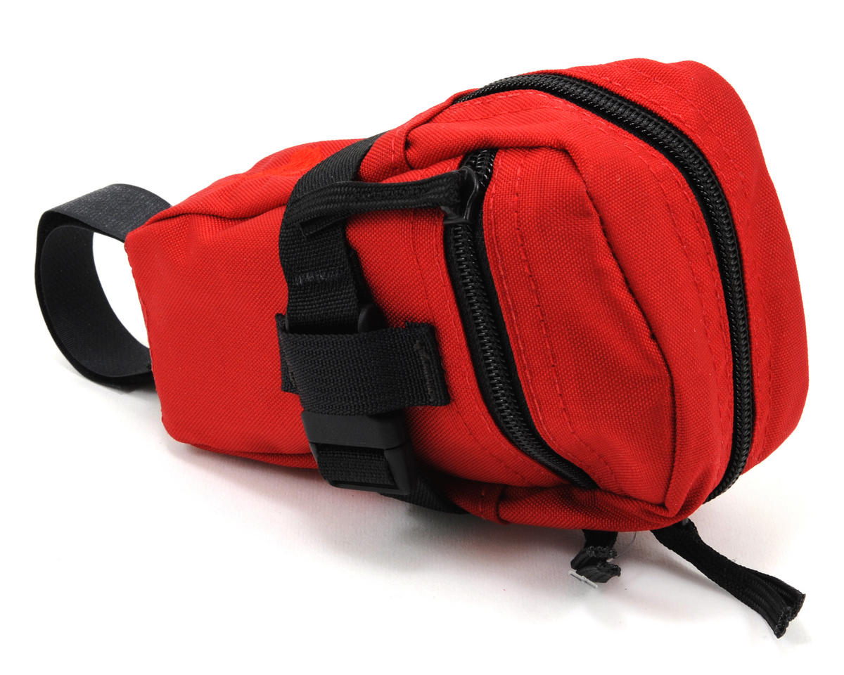 Mini Mountain Wedge Bike Saddle Bag (Red)