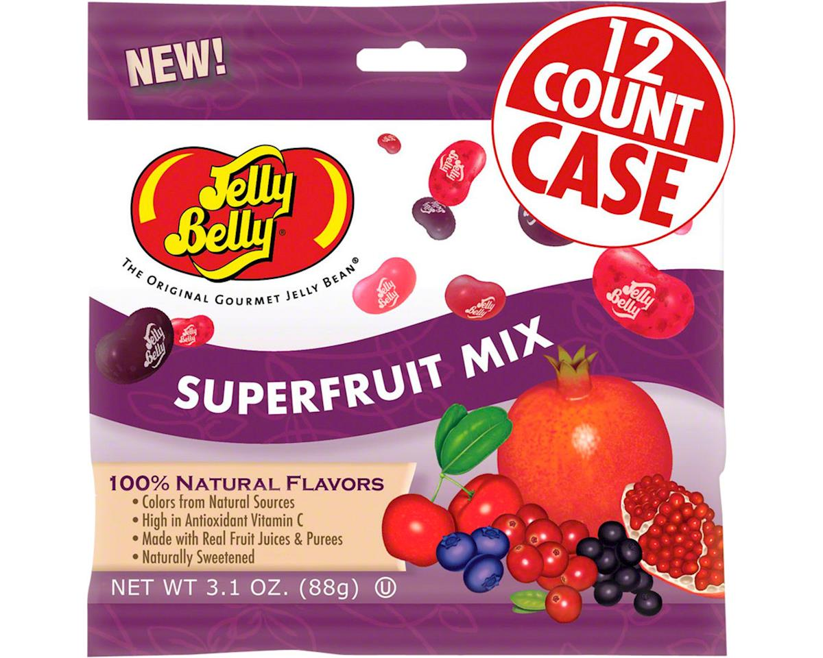 Jelly Belly Jelly Beans (Superfruit Mix) (12 3.5oz Packages)