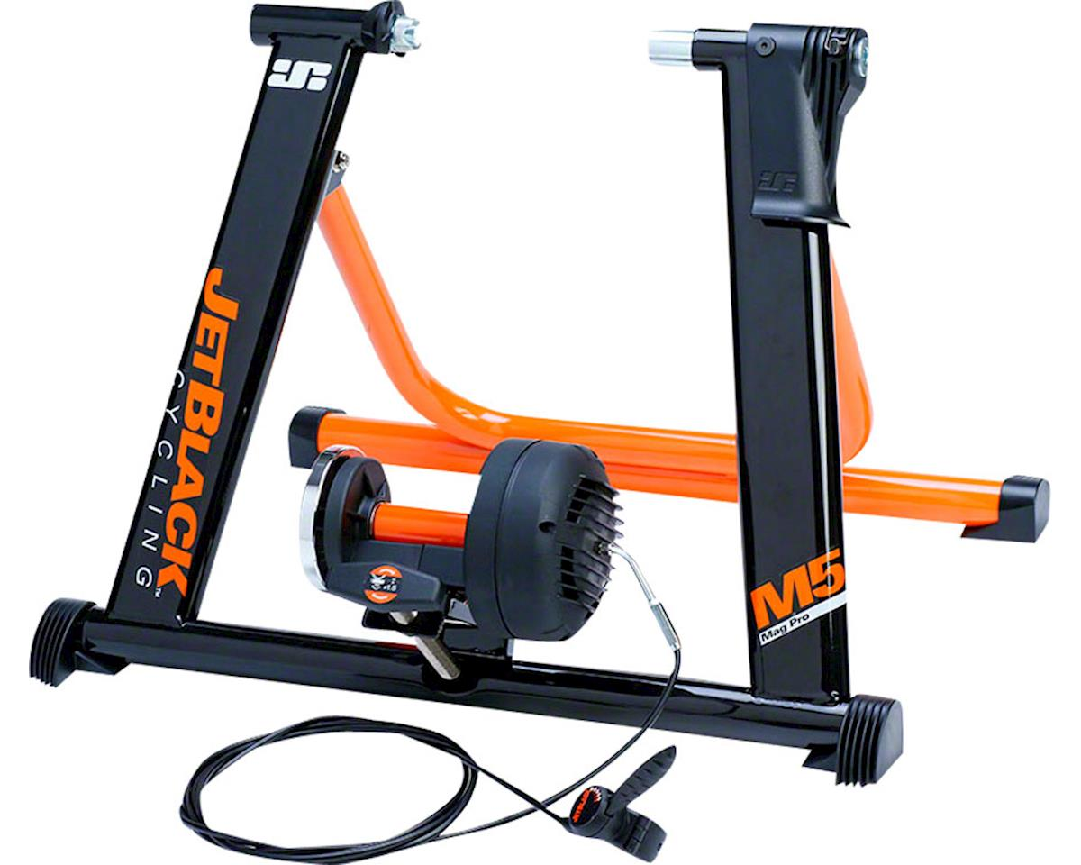 Jet Black M5 Pro Magnectic Trainer: Includes Secure Quick Release Fit System and
