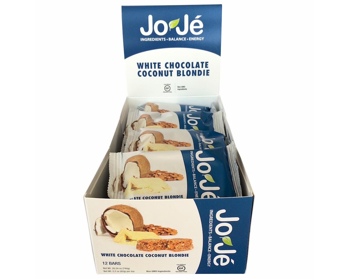 Joje Bar White chocolate coconut blondie bar - 62g 12/box