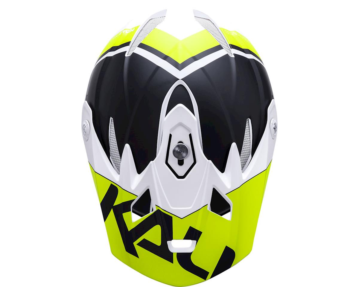 Kali Zoka Helmet (Dual Block Matte Lime) (L)