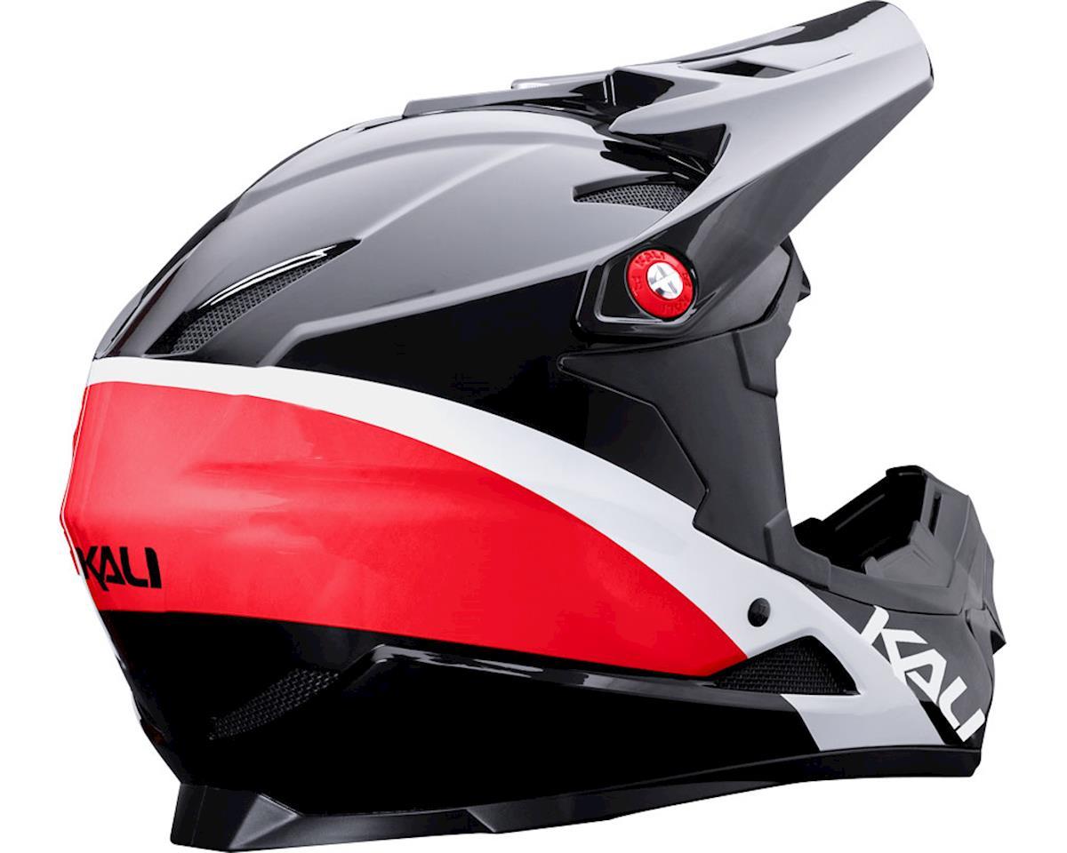Image 2 for Kali Zoka Helmet (Gloss Red/White/Blue) (M)