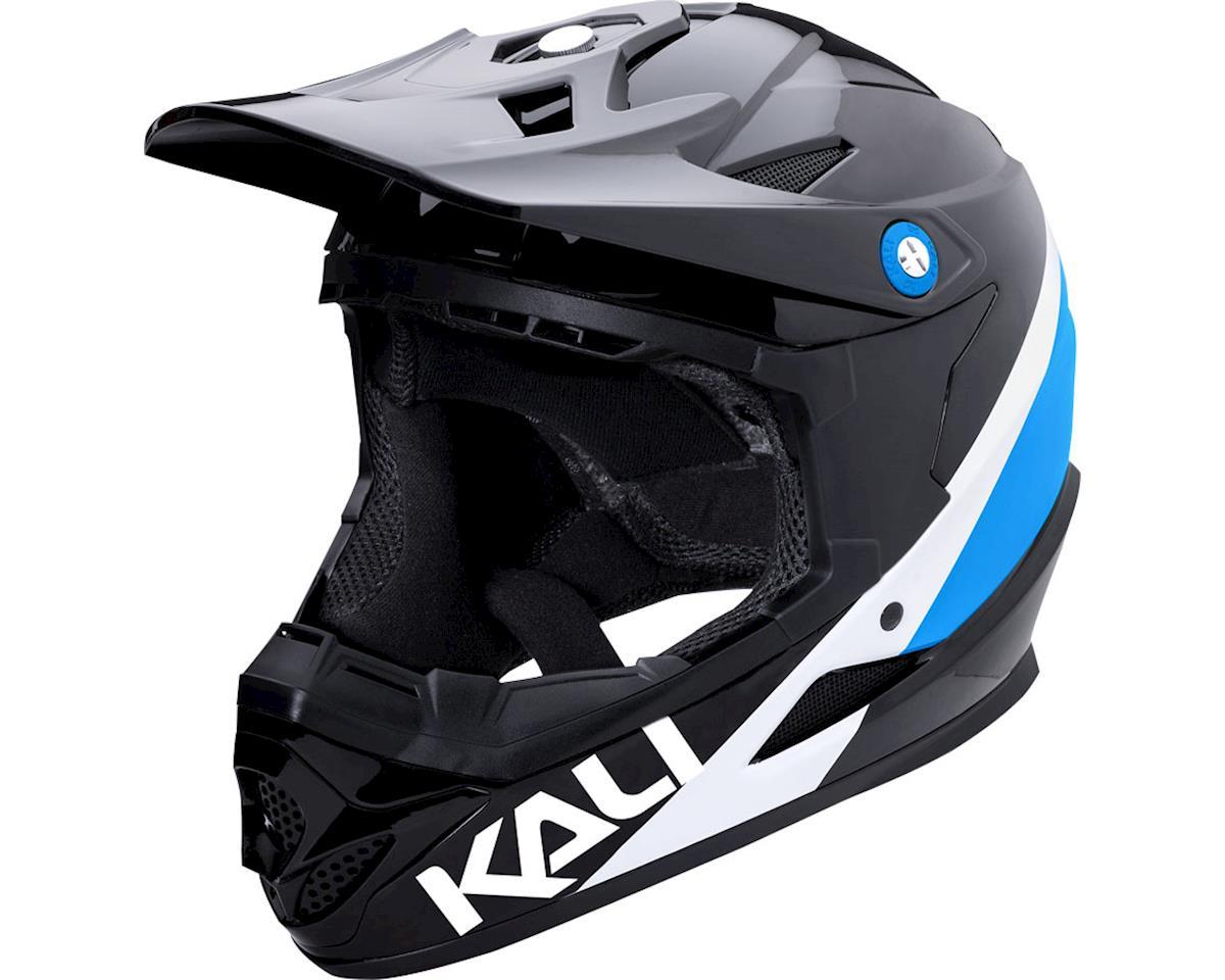 Kali Zoka Helmet (Gloss Black/Blue/White) (M)
