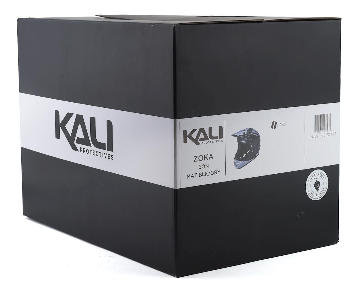 Kali Zoka Full-Face Helmet (Matte Black/Grey) (S)