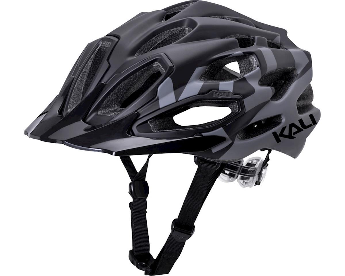 Kali Maraka Helmet (Logo Matte Black/Gray) (L/XL)