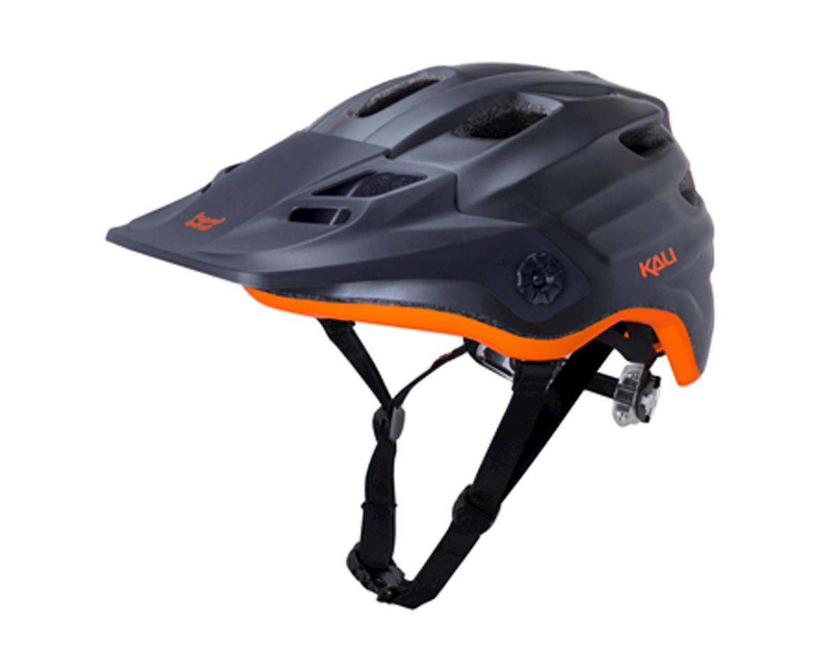 Protectives Maya Helmet (Matte Gunmetal/Orange) (Small/Medium)
