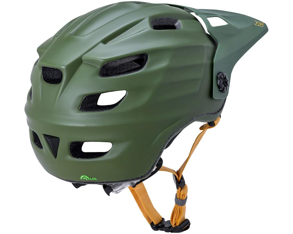 Image 3 for Kali Maya 2.0 Helmet (Matte Khaki/Yellow) (S/M)