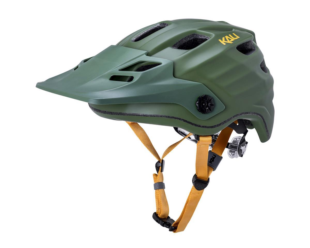 Kali Maya 2.0 Helmet (Matte Khaki/Yellow) (L/XL)