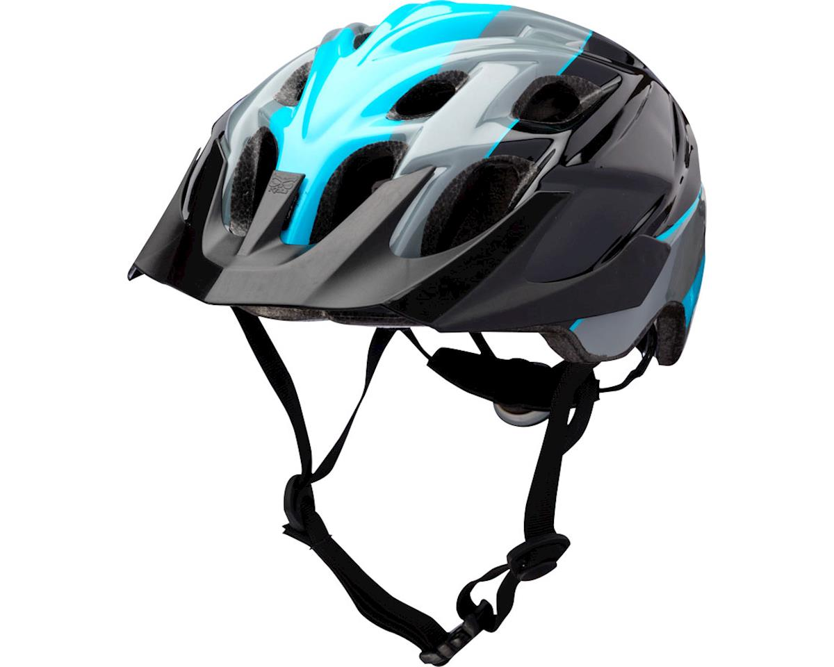 Kali Protectives Chakra Youth Helmet: Sublime Black/Blue One Size