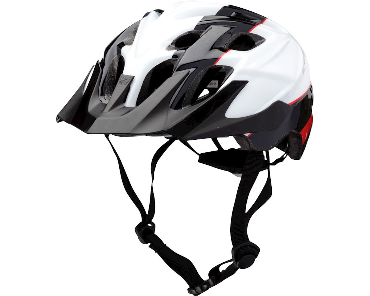 Kali Chakra Youth Helmet (Sublime Black/Red)