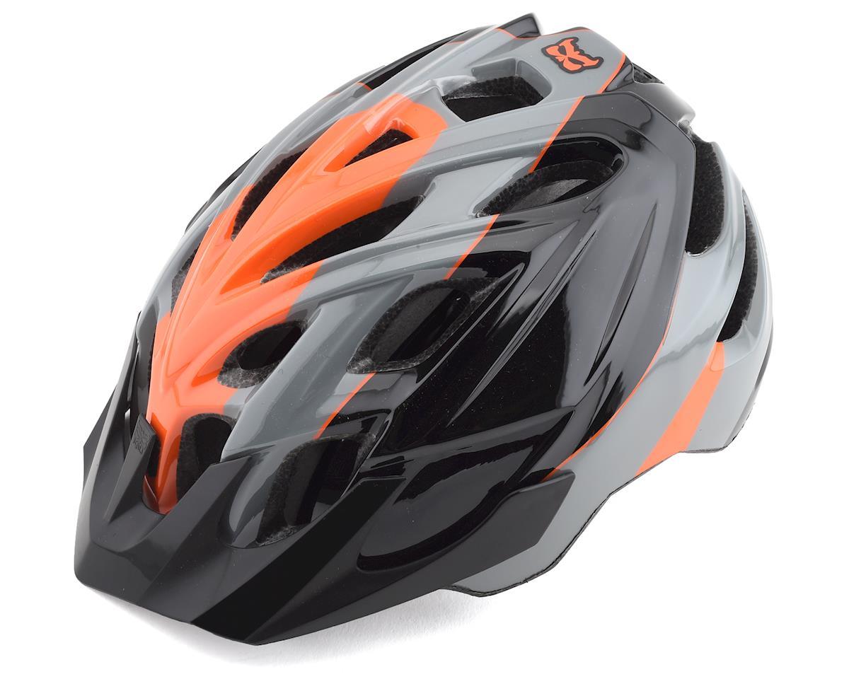 Kali Chakra Youth Helmet (Sublime Black/Orange) (One Size)