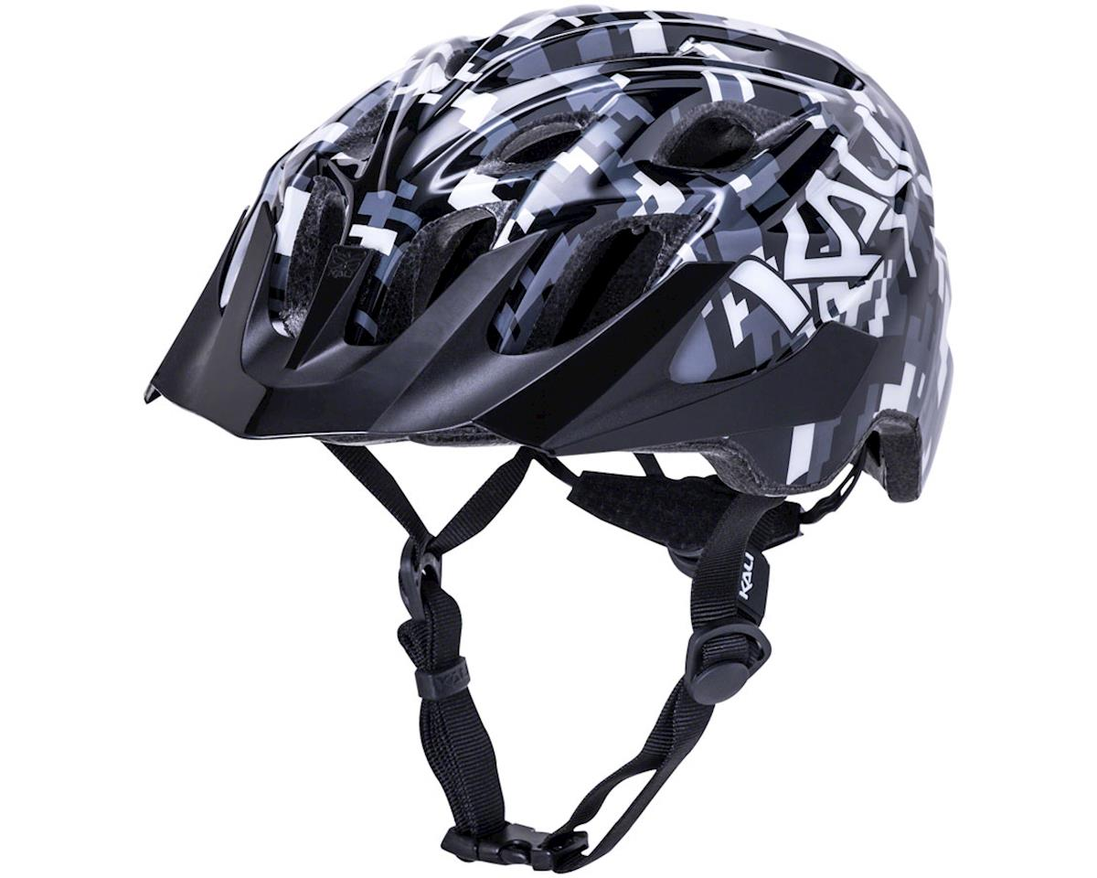Kali Chakra Youth Helmet (Pixel Black) (Universal Youth)