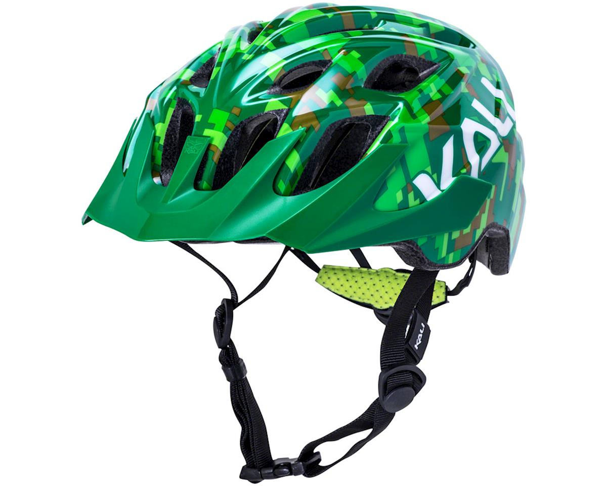 Kali Chakra Youth Helmet (Pixel Green) (Universal Youth)