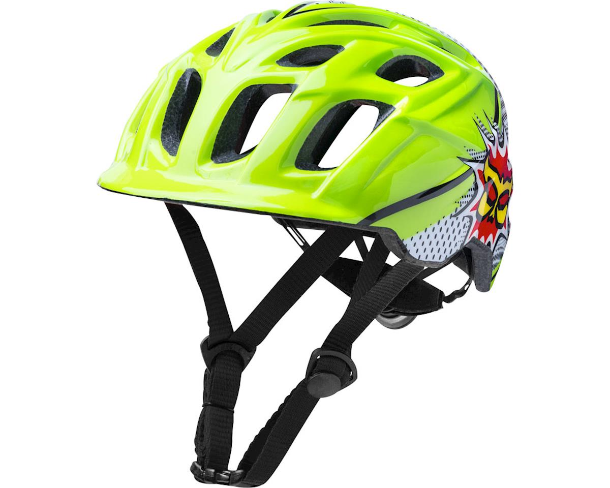 Protectives Chakra Child Helmet: Pow Green/Black One Size