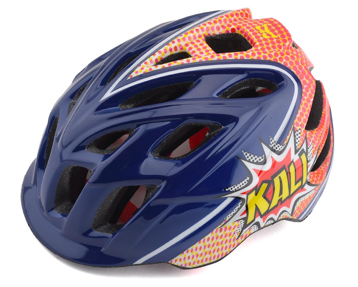 Kali Chakra Child Helmet (Pow Blue/Red)