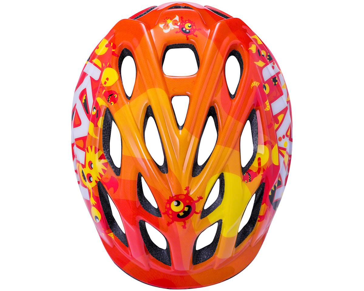 Image 2 for Kali Chakra Child Helmet (Monsters Orange) (XS)