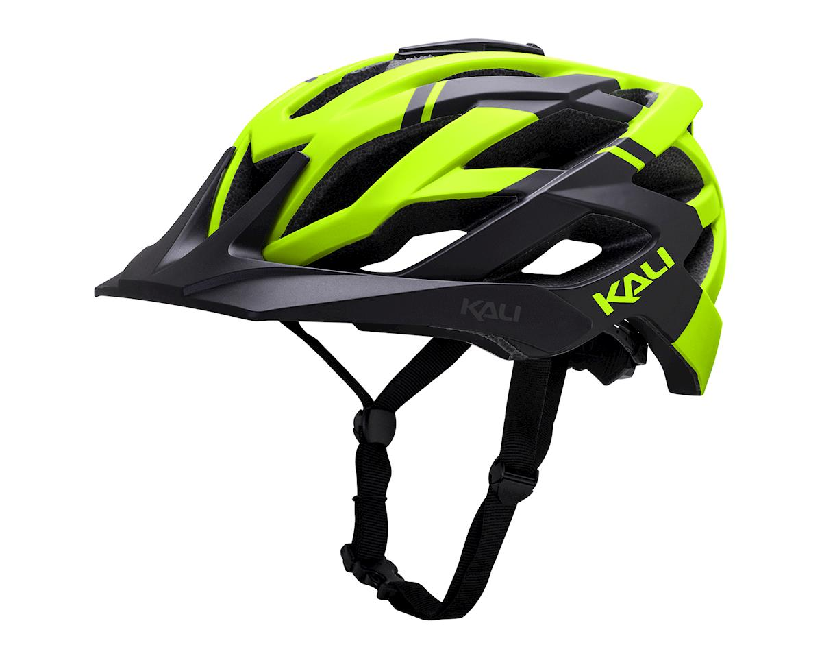 Kali Lunati Helmet (Matte Black/Yellow)