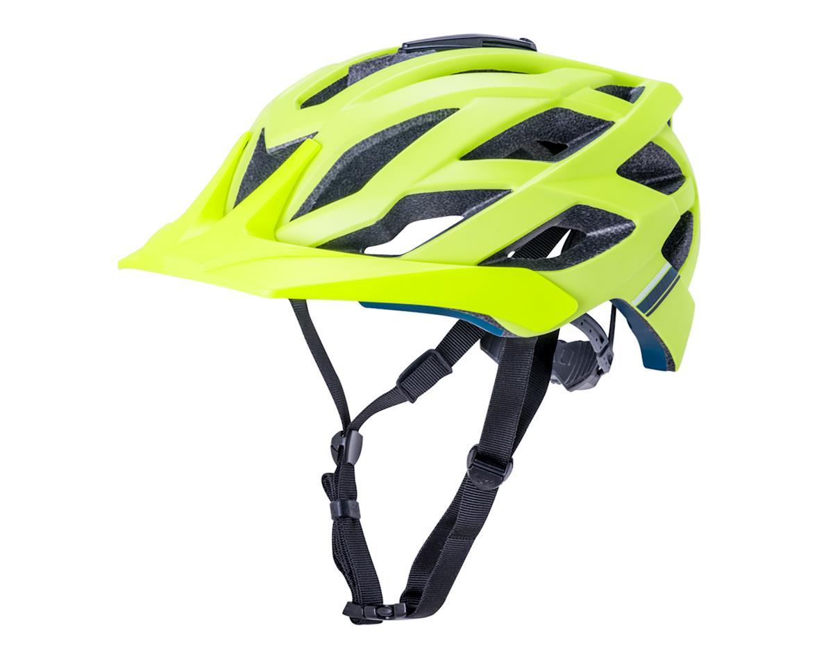 Kali Lunati Sync Helmet (Matte Fluo Yellow) (S/M)