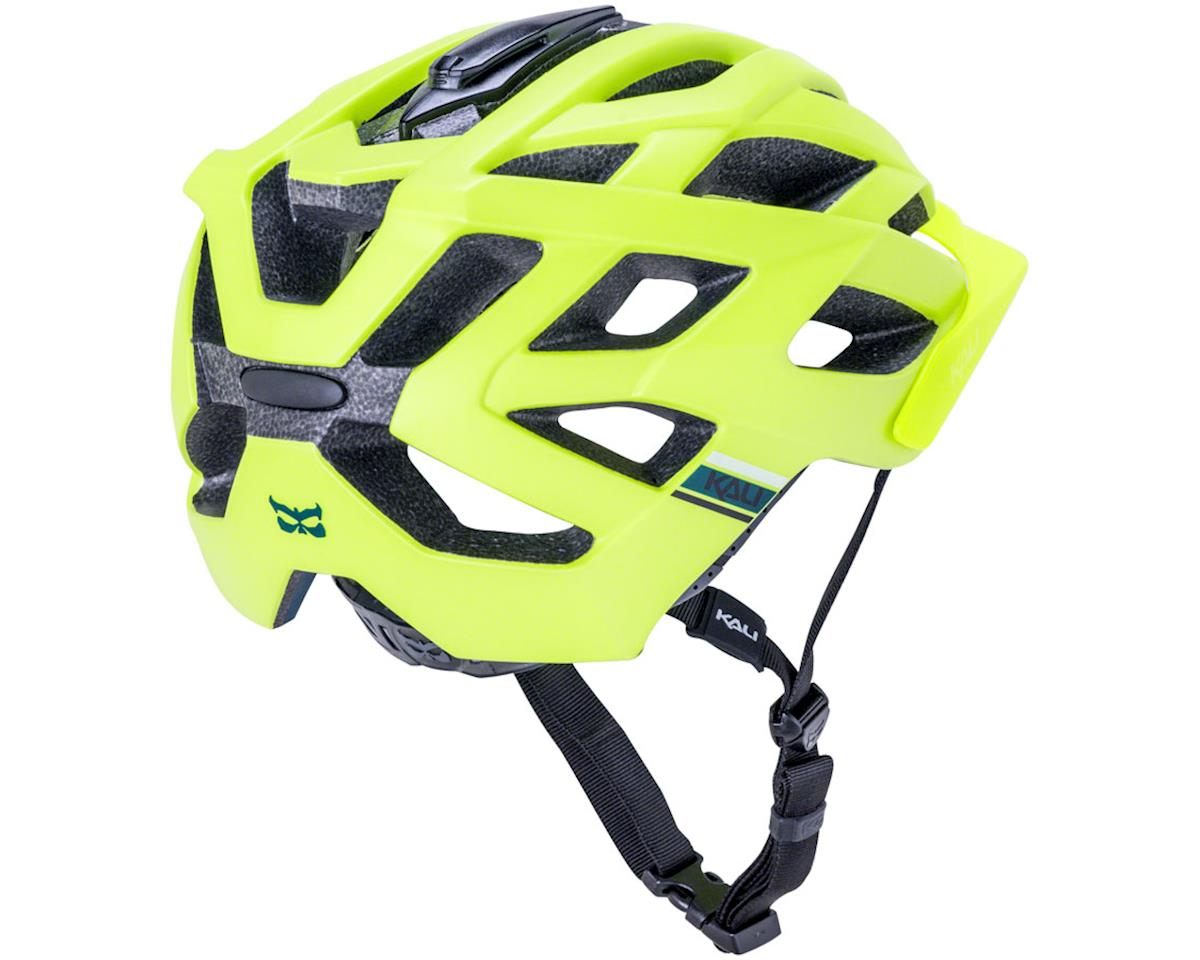 Kali Lunati Sync Helmet (Matte Fluo Yellow) (L/XL)