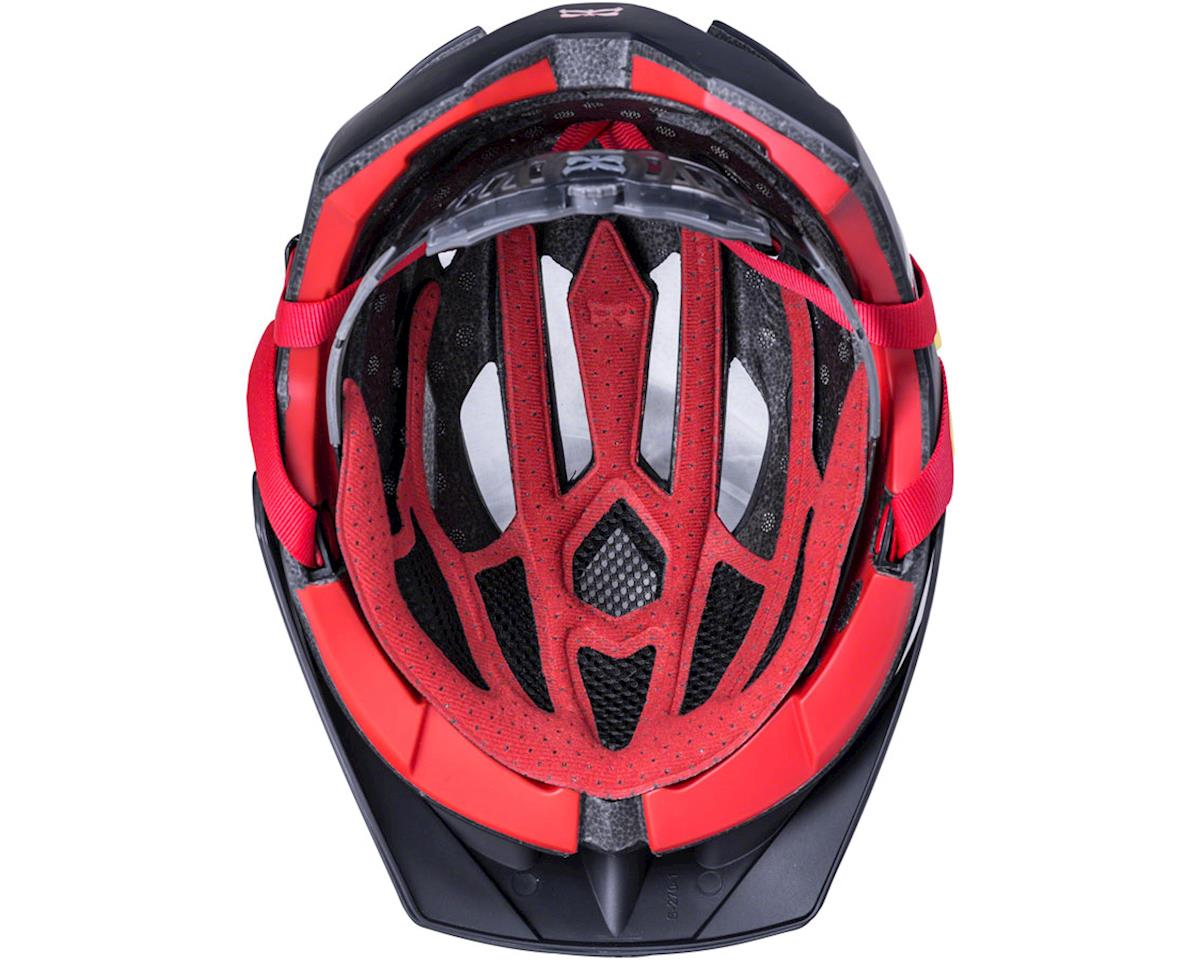 Kali Lunati Sync Helmet (Matte Black/Red) (S/M)