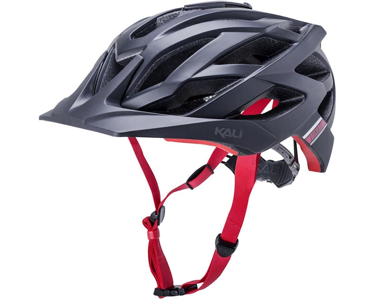 Kali Lunati Sync Helmet (Matte Black/Red) (L/XL)