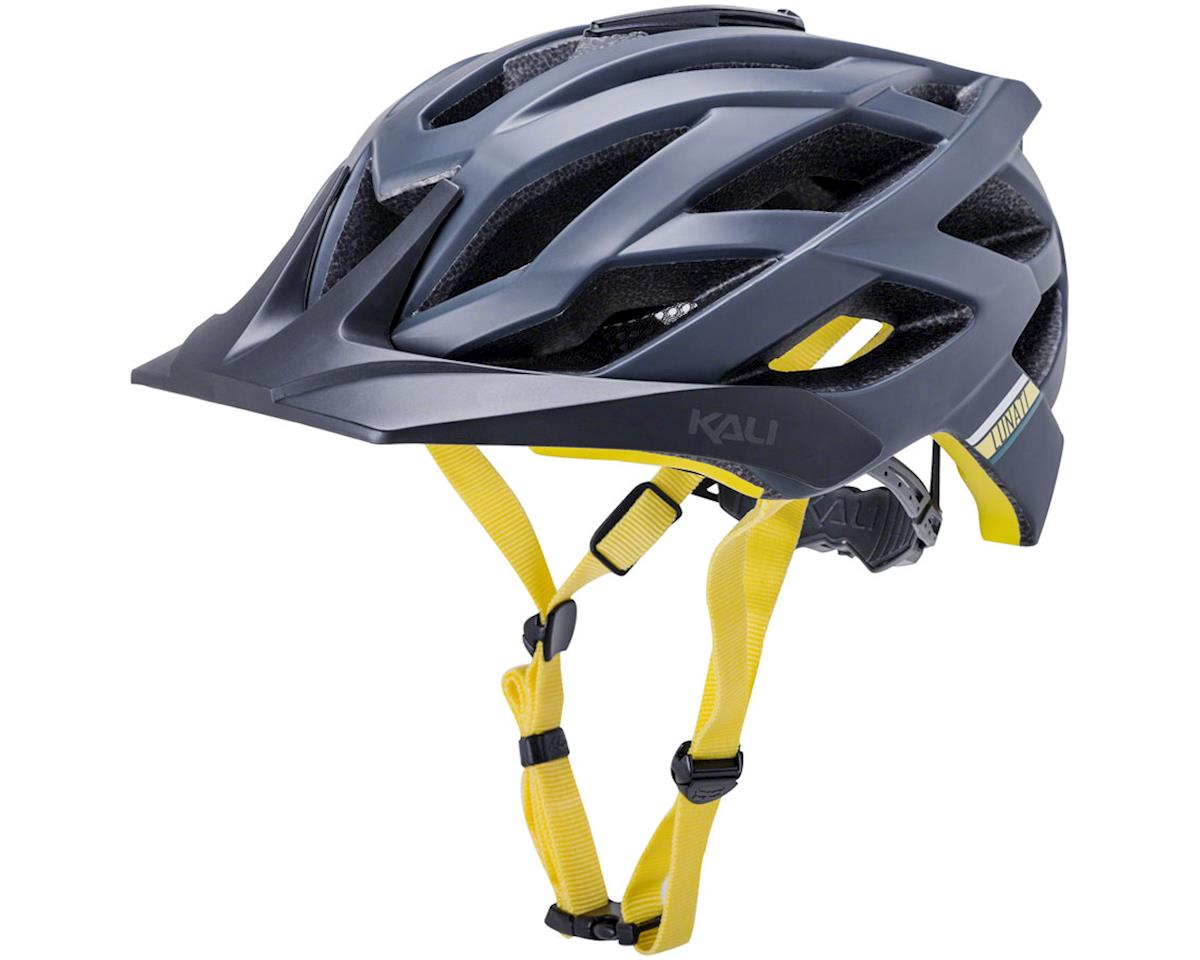 Image 1 for Kali Lunati Sync Helmet (Matte Navy/Yellow) (S/M)