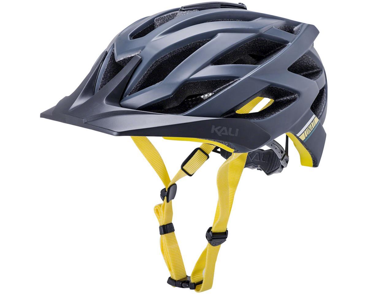 Kali Lunati Sync Helmet (Matte Navy/Yellow) (S/M)