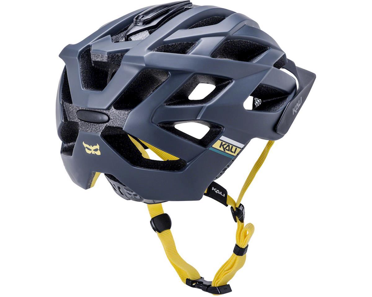 Image 3 for Kali Lunati Sync Helmet (Matte Navy/Yellow) (S/M)