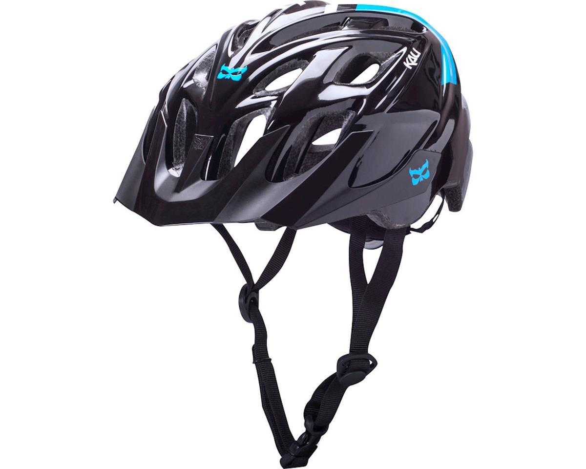 Kali Chakra Solo Helmet (Neo Black/Blue) (S/M)