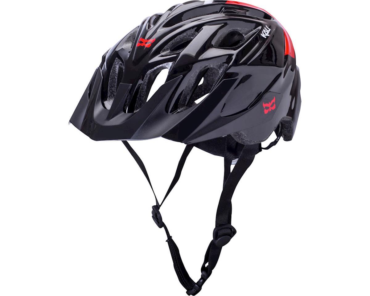 Kali Chakra Solo Helmet (Black/Red) (S/M)