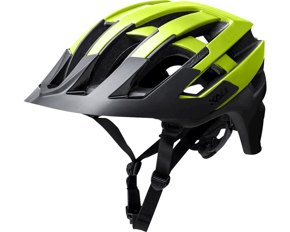 Kali Interceptor Helmet (Halo Matte Fluorescent Yellow/Black) (L/XL)
