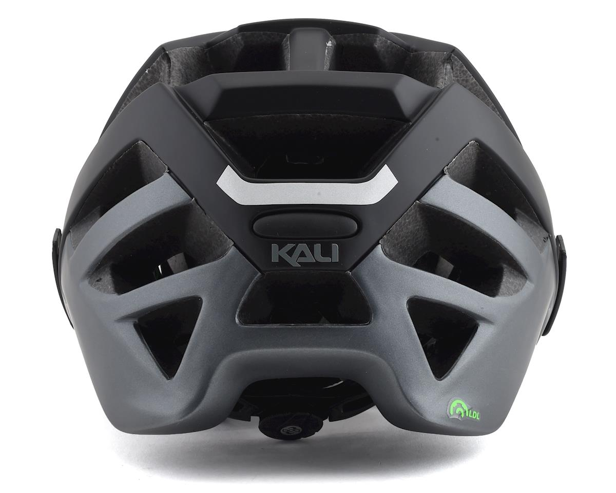 Image 2 for Kali Interceptor Helmet (Dual Matte Black/Titanium) (L/XL)