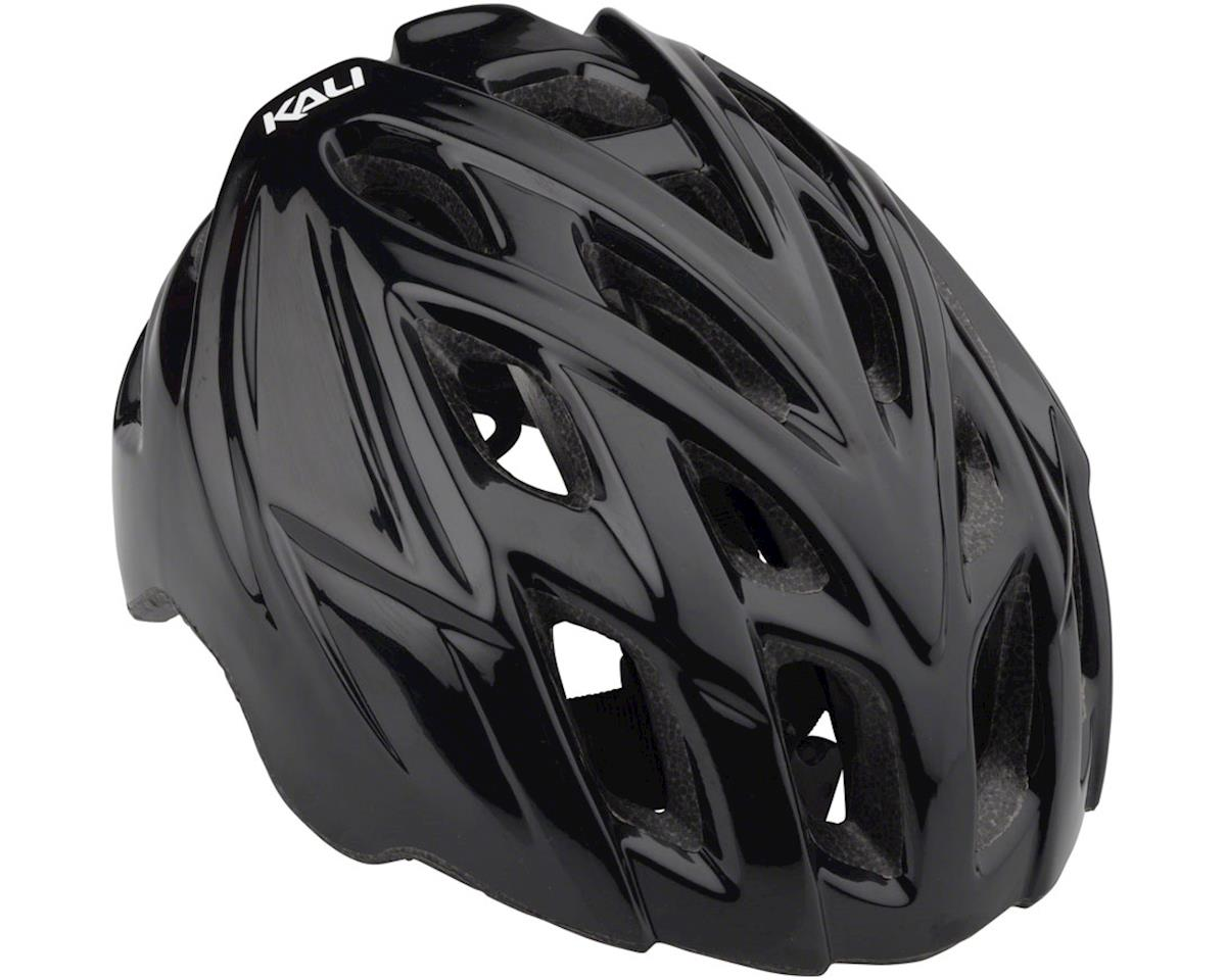 Kali Chakra Mono Helmet: Solid Fluoro Yellow LG/XL