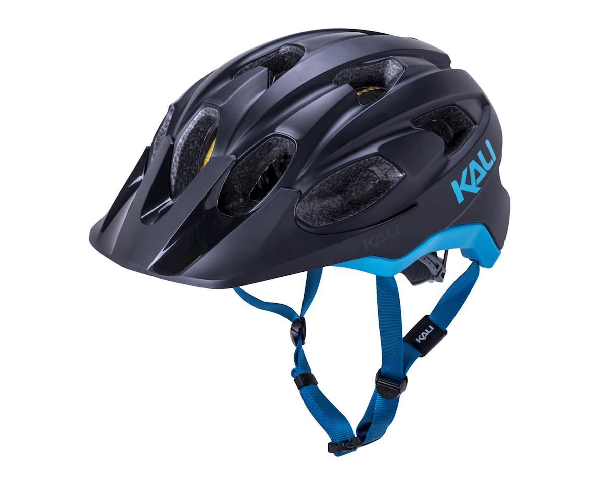 Image 1 for Kali Pace Helmet (Matte Black/Blue) (S/M)