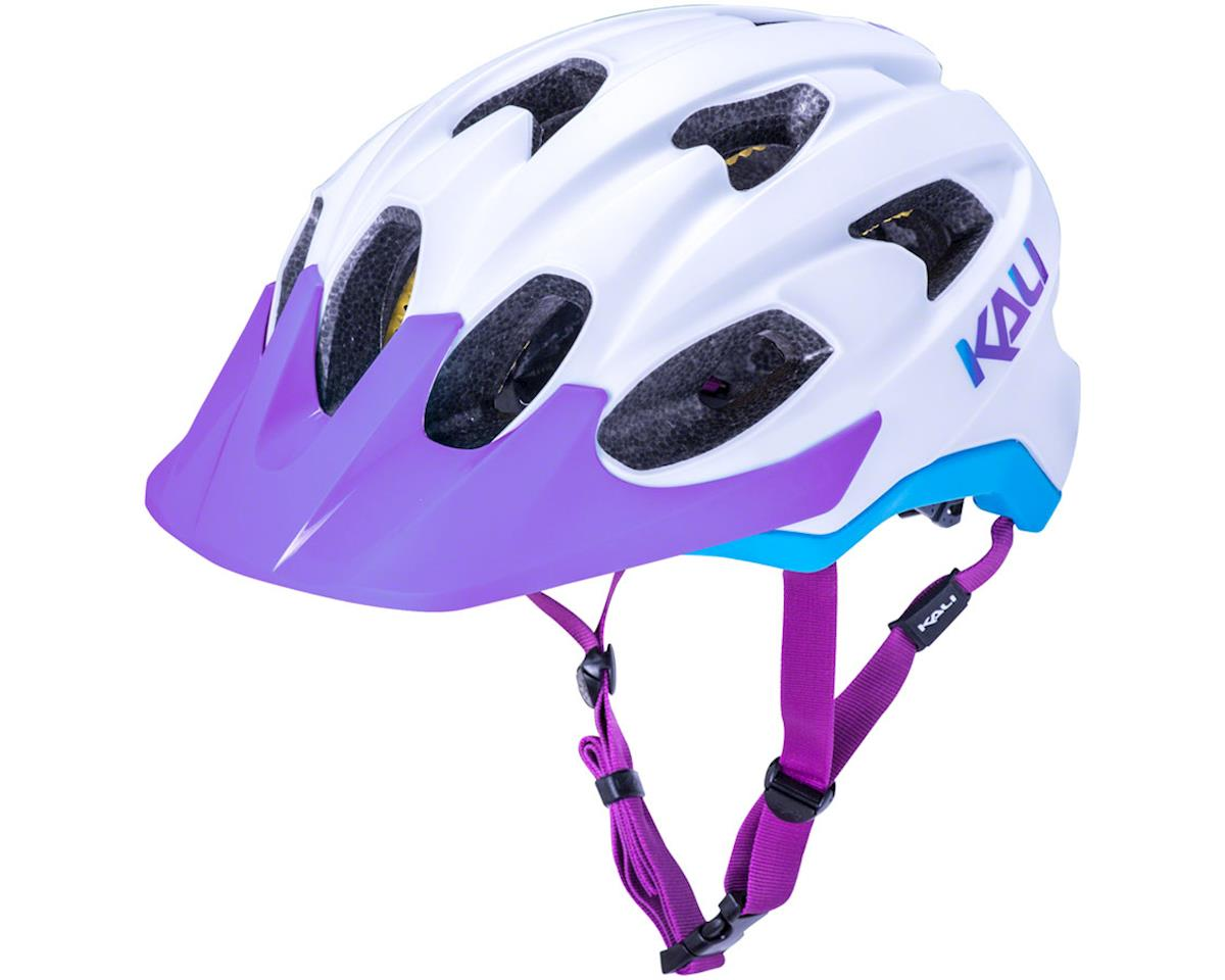 Kali Pace Helmet (Matte White/Blue/Purple) (L/XL)