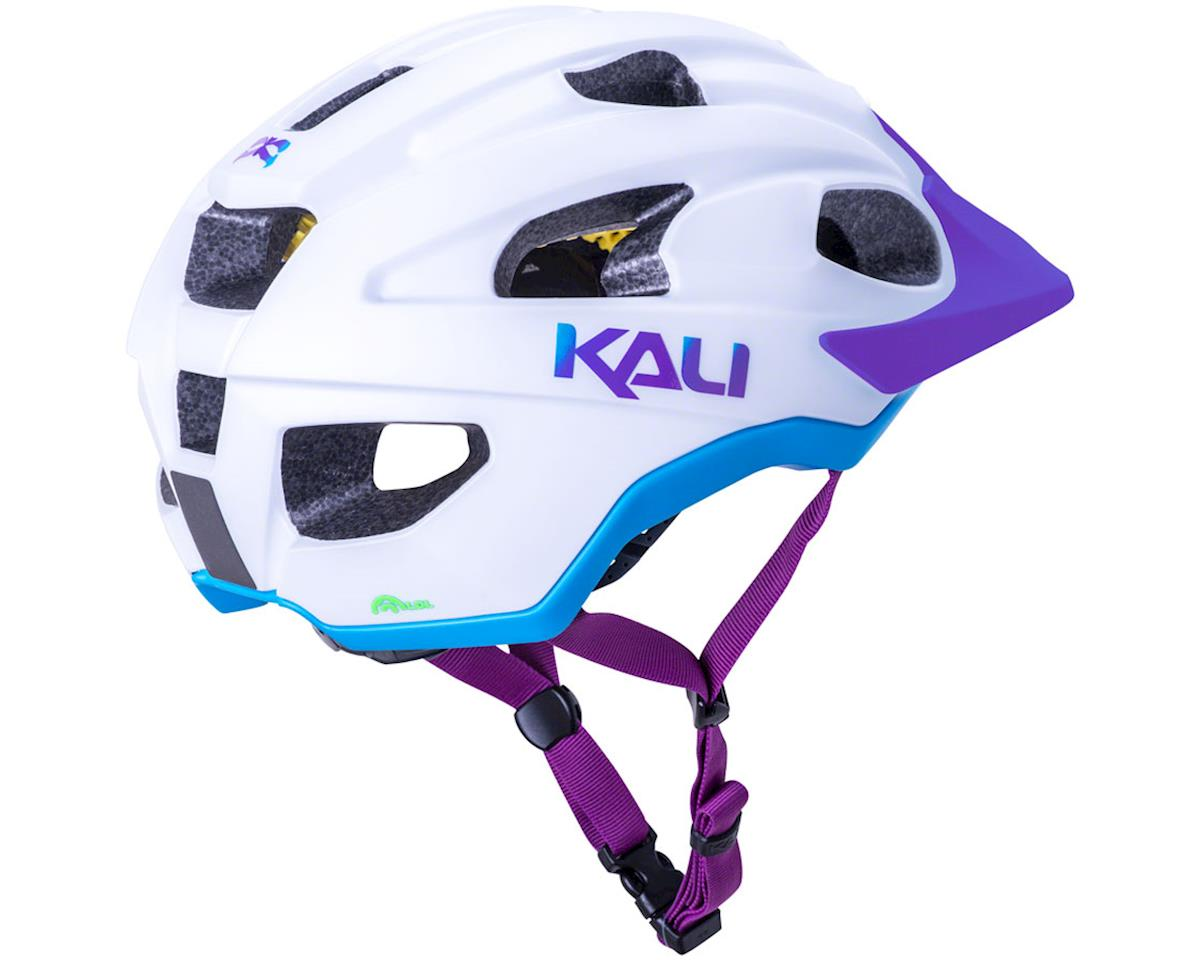 Image 3 for Kali Pace Helmet (Matte White/Blue/Purple) (L/XL)