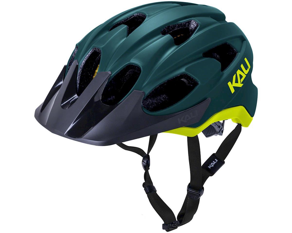 Kali Pace Helmet (Matte Teal/Yellow) (S/M)