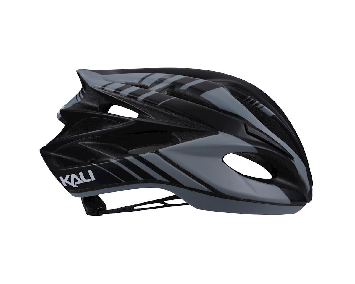 Image 2 for Kali Loka Helmet (Tracer Matte Gray/Black) (S/M)