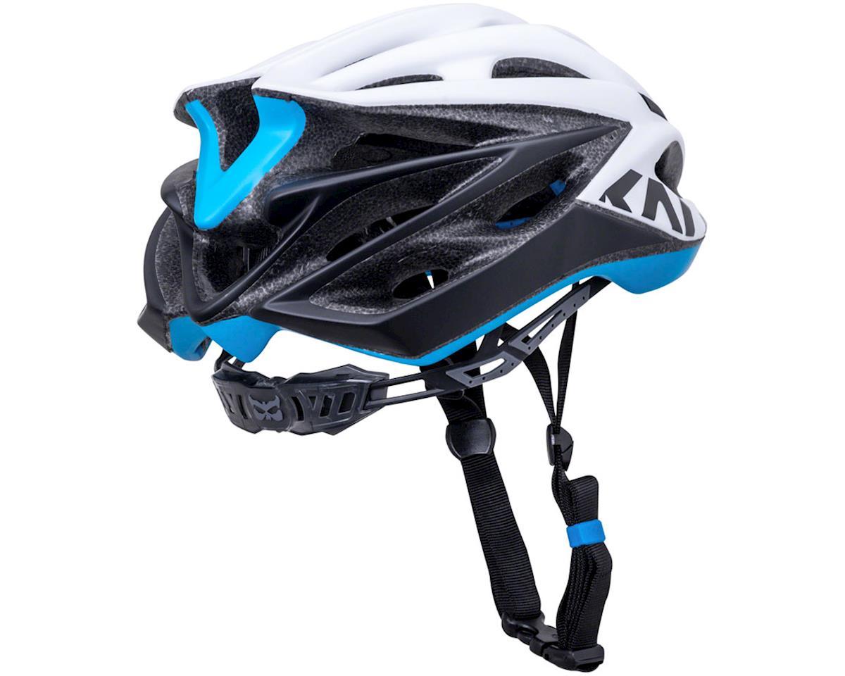 Image 3 for Kali Loka Valor Helmet (Matte White/Black/Blue) (S/M)