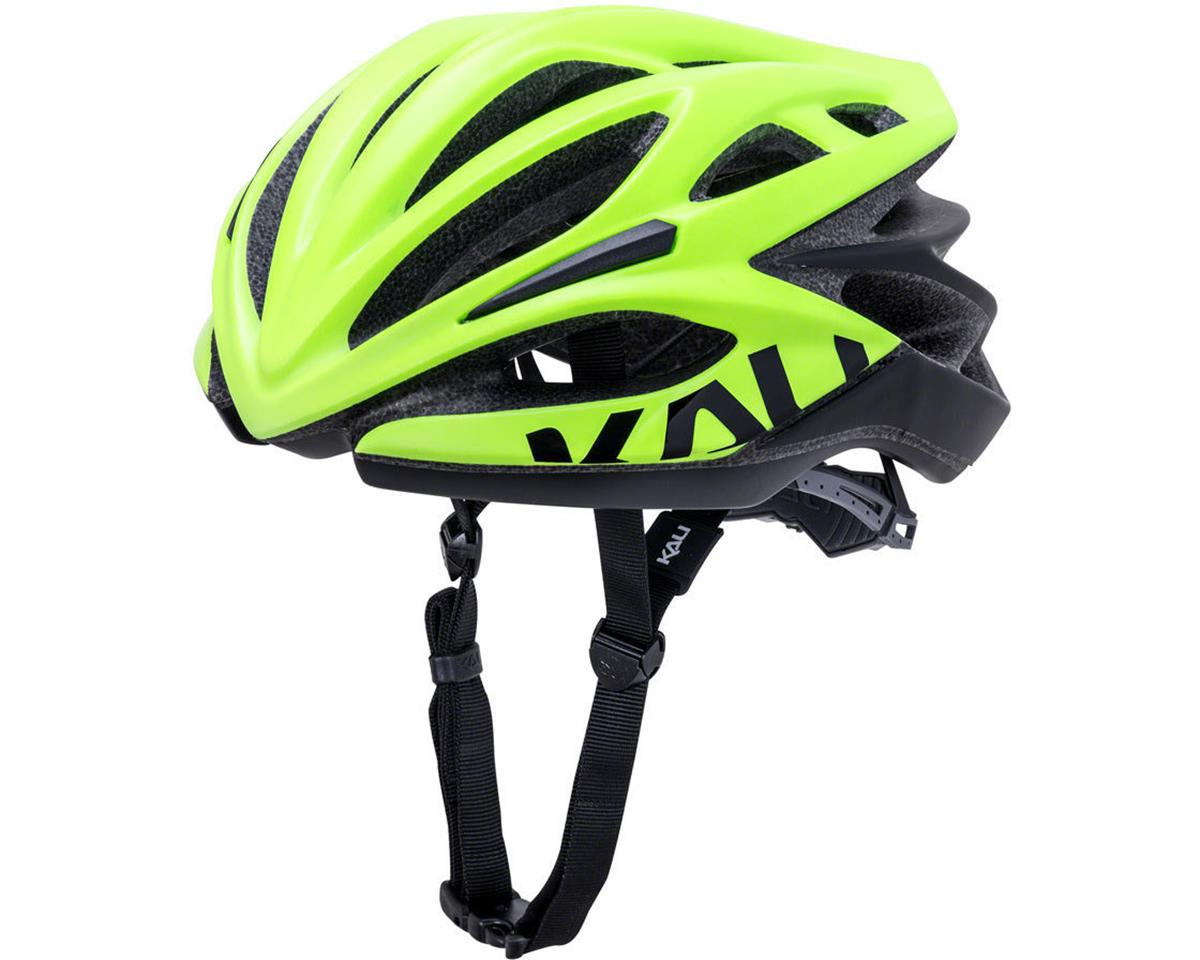 Kali Loka Valor Helmet (Matte Yellow/Black) (S/M)