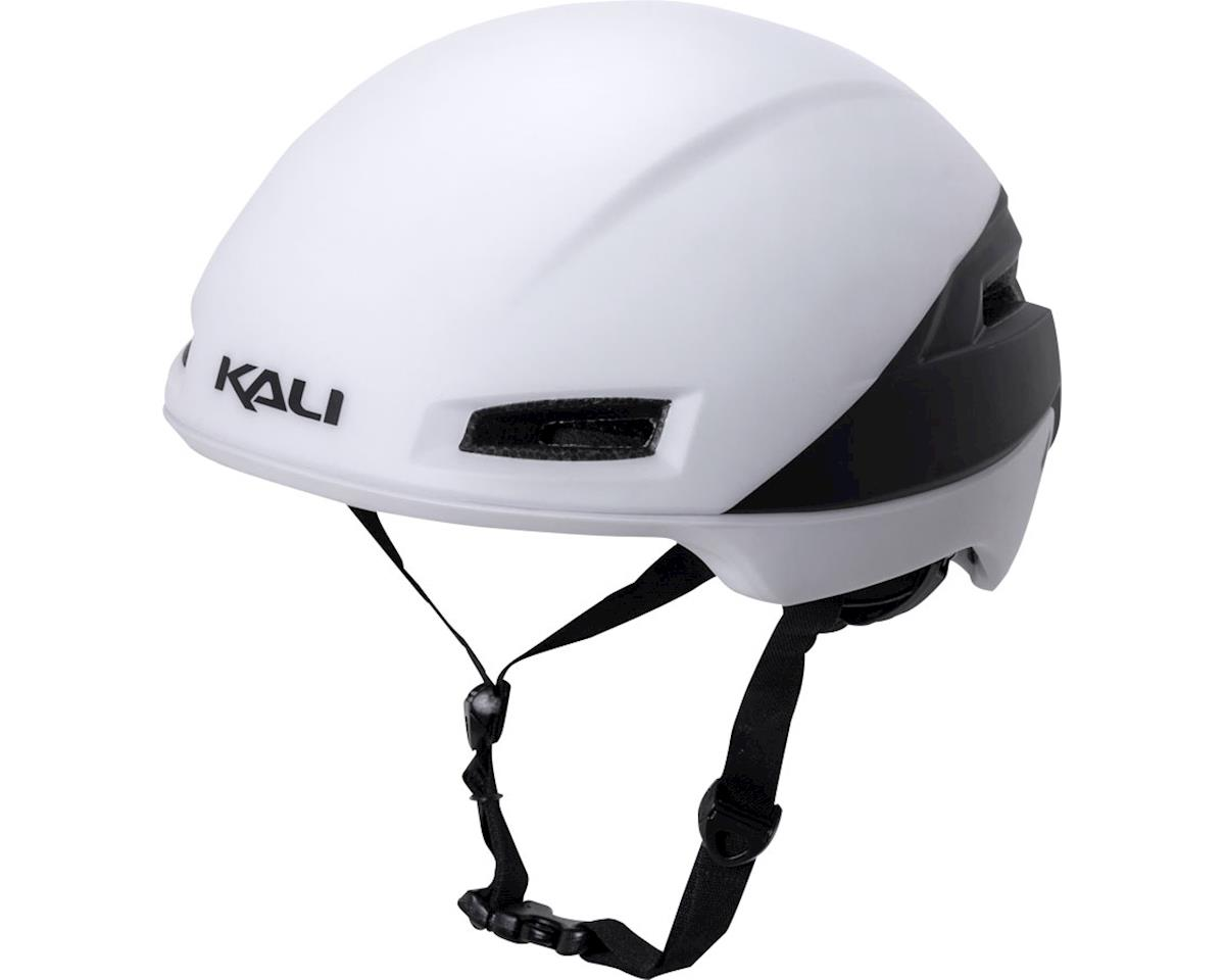 Tava Flow Helmet: Matte Fluoro Yellow/Black, SM/MD