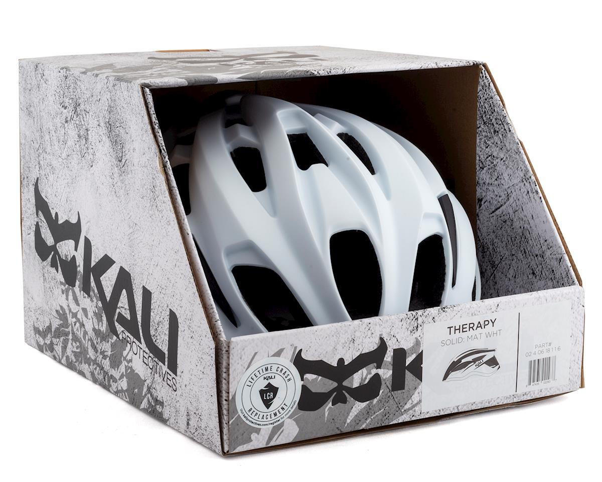 Kali Therapy Helmet (Solid Matte White) (S/M)